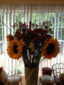 Sunflowers are a few of my favorite things!