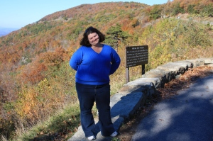 One of our Shenandoah hiking escapes! Enjoying the overlook and beautiful scenery.