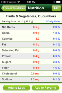 To correctly track my food portions in Carb Masters, I need to key in the following data for my foods. Not very helpful at all!