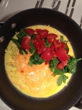 simple start veggie omelet