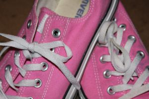 Time to break out my pink chucks and rack up some miles for my virtual walk to Denver.