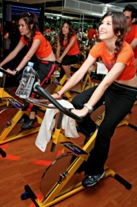 I'm loving my MOI cycle class. But am I really ready to get MOI certified so I can teach it? My instructor thinks so. Gulp! Image courtesy of duron123 and FreeDigitalPhotos.net.