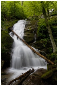 Lower Crabtree Falls. Image courtesy of Virginia Trail Guide.