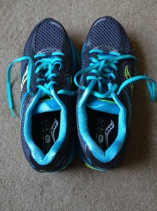 After a great trip to Pacers, I have my new running shoes! They feel great and I can't wait to try them out tomorrow.