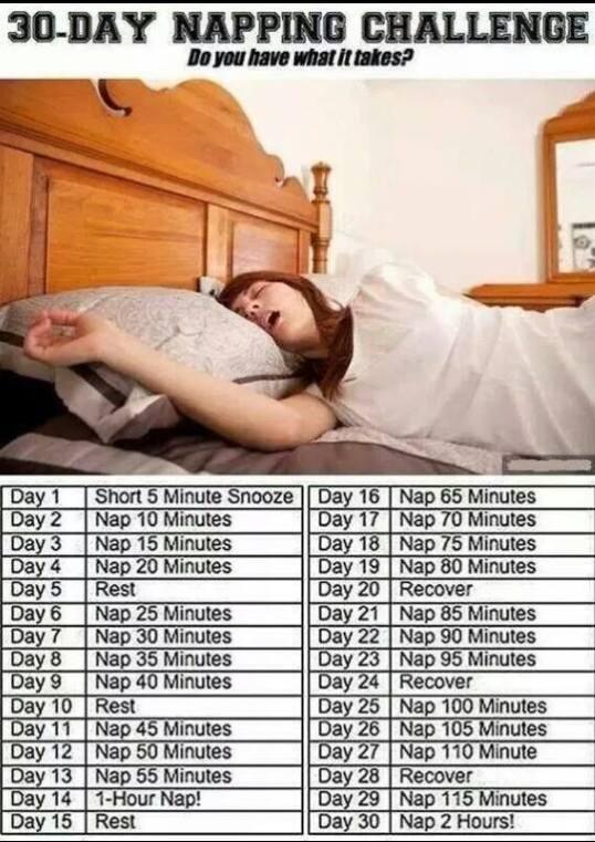 Nap challenge