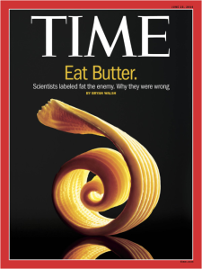 Kudos to Time Magazine for doing some actual reporting! Saturated fat isn't the enemy. It's what's replaced it in our diet that's making us fat.