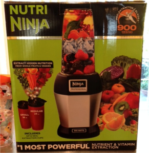 A few weeks ago I received my very first product in the mail to review on my blog -- The Nutri Ninja. Time to put it to the test.