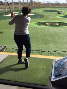 Celebrated my anniversary this weekend at TopGolf and am sore all over! But I loved it and am going back for more.