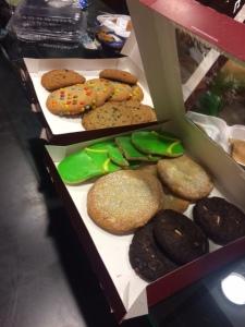 Last Week's Cookies